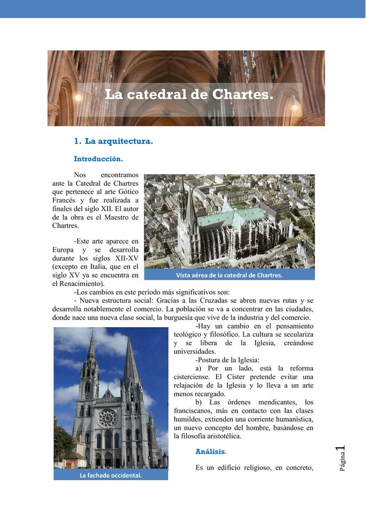 La Catedral De Chartes