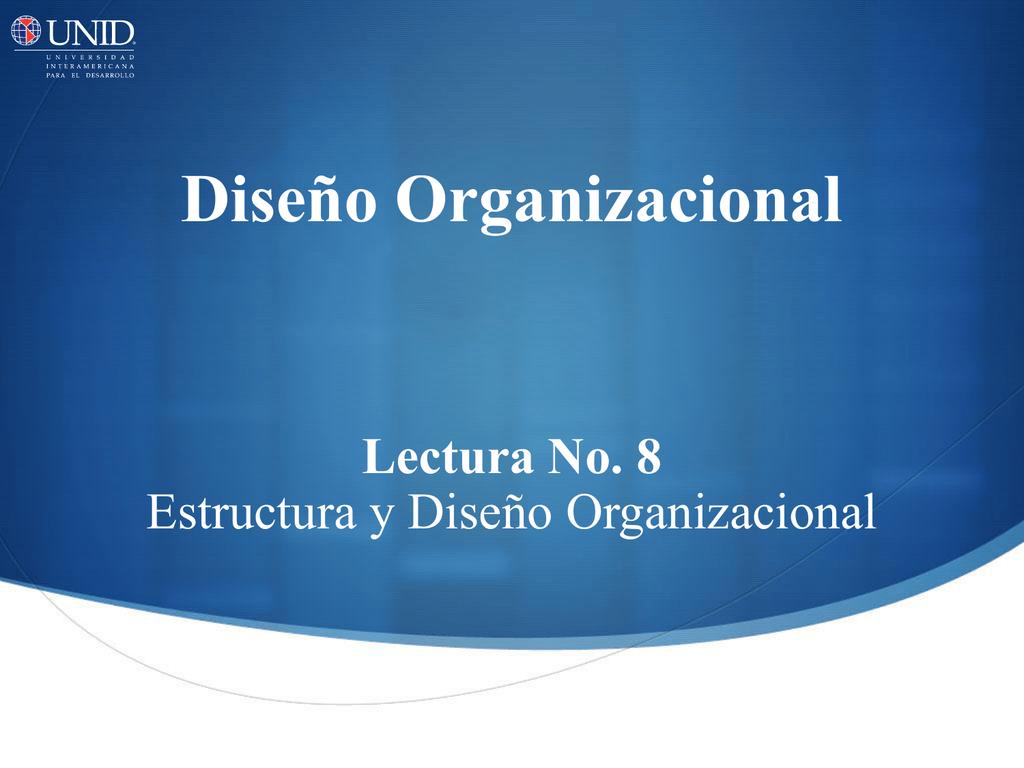 5 Estructura Divisional
