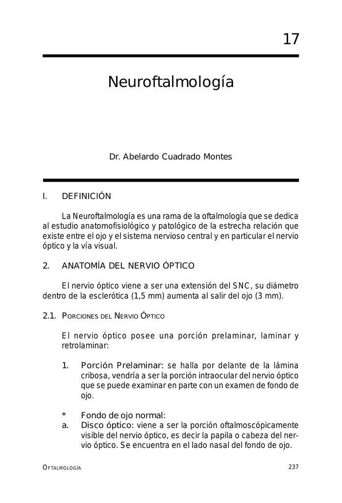 Neuroftalmología 17