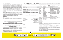 chlorpyrifos 50 wp