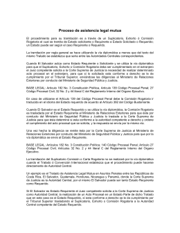 Proceso de asistencia legal mutua