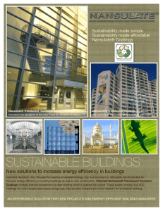 sustainable buildings - Bienvenido a OMNIGENUS® ENERGY