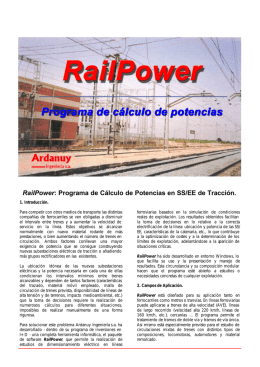 Folleto Rail Power - Directori d`enginyeries