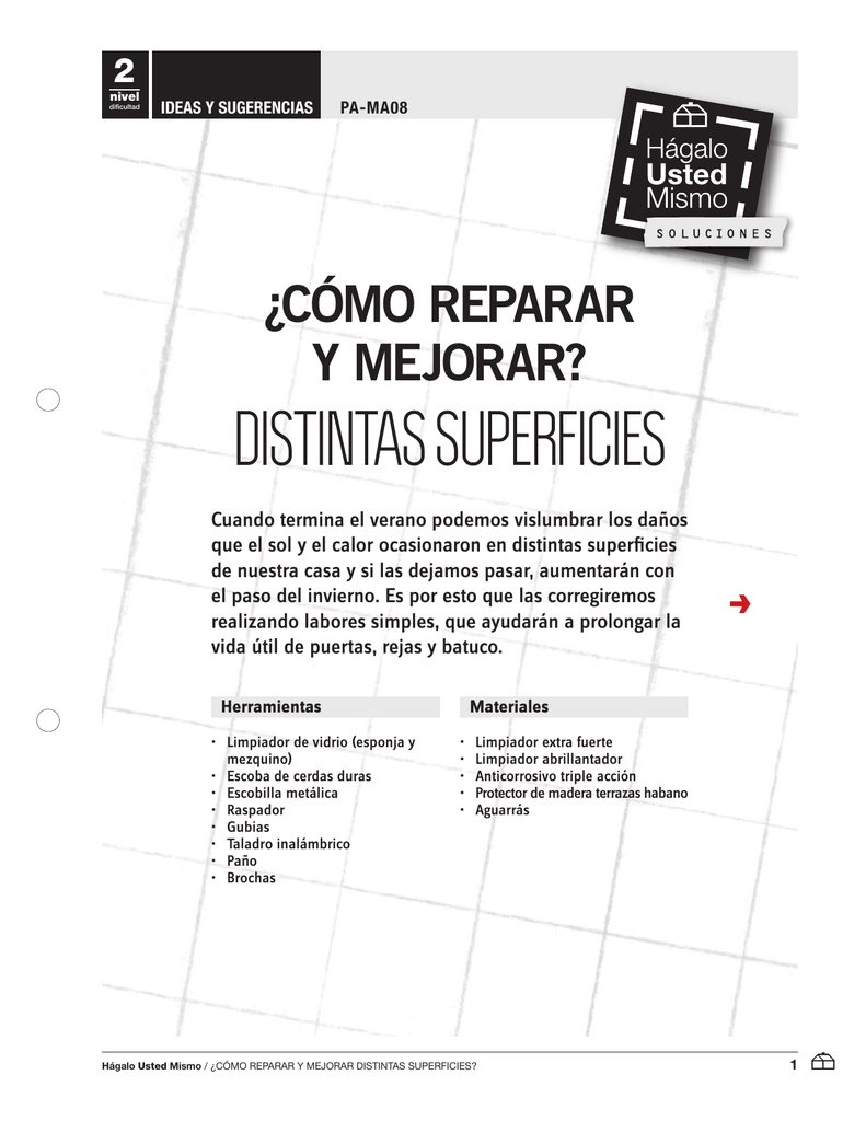 Distintas Superficies