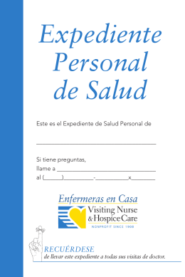 Expediente Personal de Salud - The Care Transitions Program