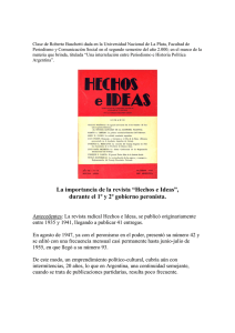 revista hechos e ideas