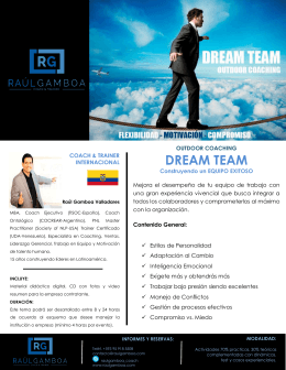 DREAM TEAM - Raul Gamboa