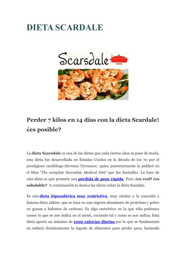 dieta dr scardale 14 dias