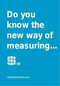 Do you know the new way of measuring