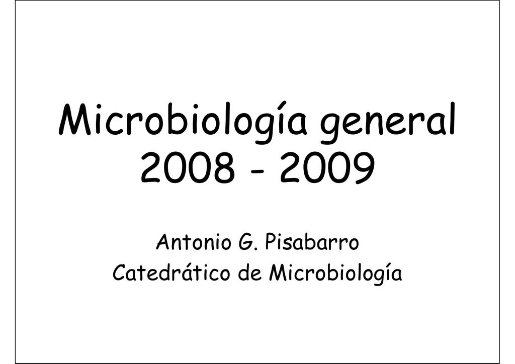 Tamaño Y Morfología De Las Bacterias