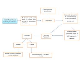 Diagrama de flujo del proceso penal acusatorio y oral en mexico su cuadro 2 acusador privado ccuart Choice Image