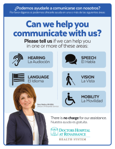 Can we help you communicate with us?