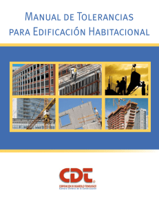 Manual de Tolerancias para EdiFIcación Habitacional