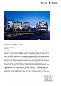 Plan Director de More London