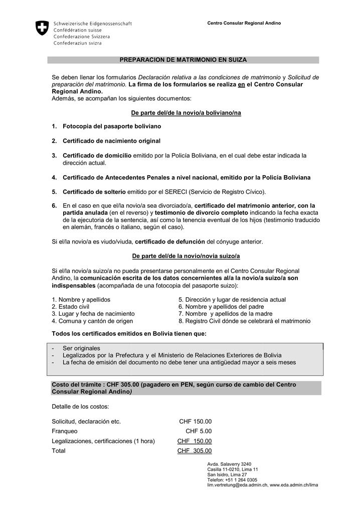 PREPARACION Se deben llenar los formulario - EDA