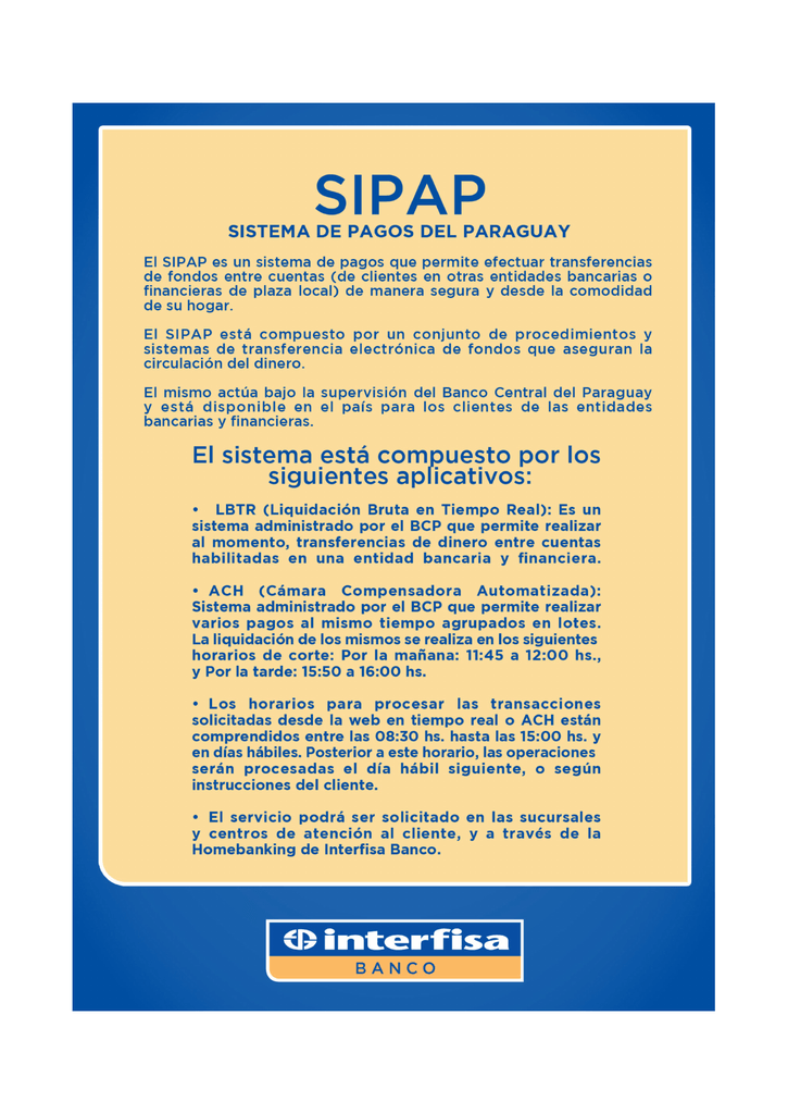 sipap - Interfisa