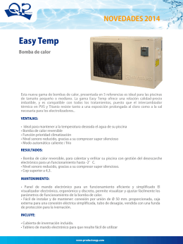 Easy Temp - Productos QP