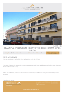 beautiful apartments next to the beach ciutat jardi