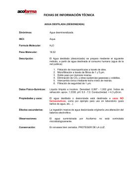 Protocolo de preparaci n previo de muestras para an lisis de - Examenes ayudante de cocina ...