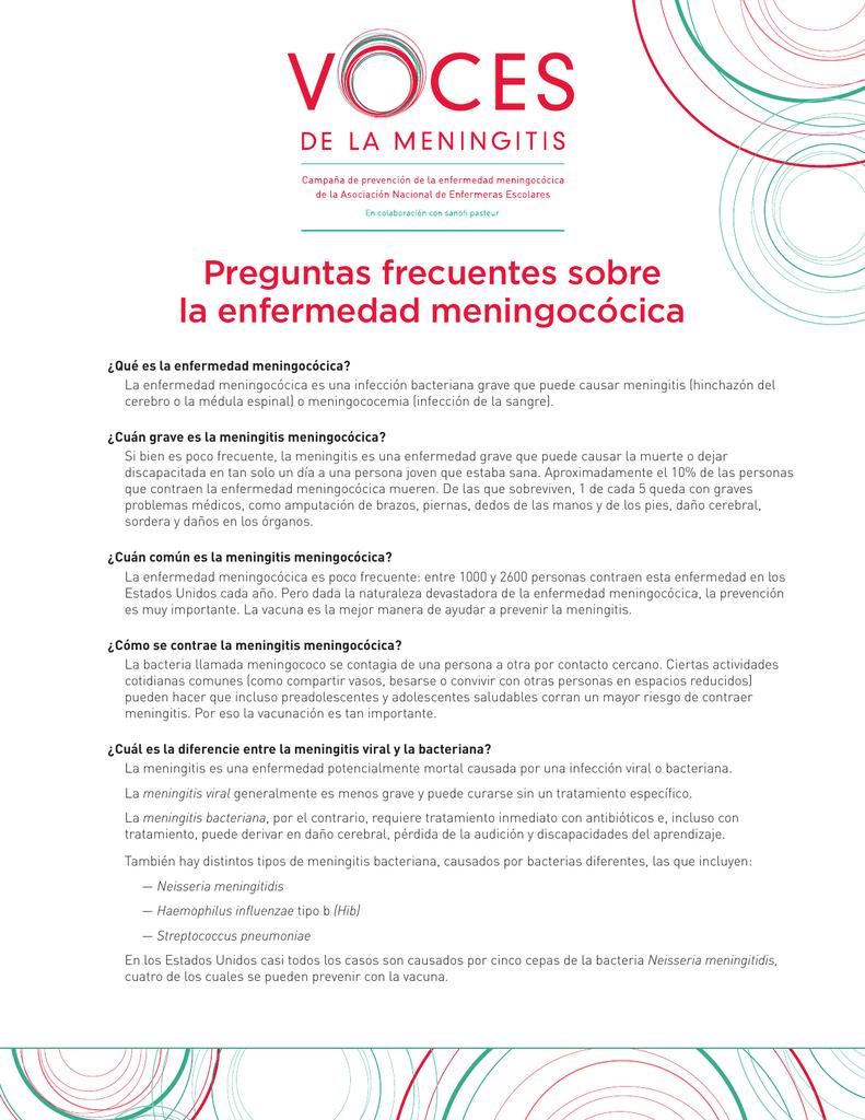 Para meningitis bacteriana vacuna