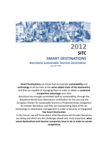 Smart Destinations are those that incorporate