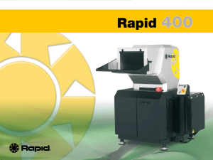 Rapid Granulator