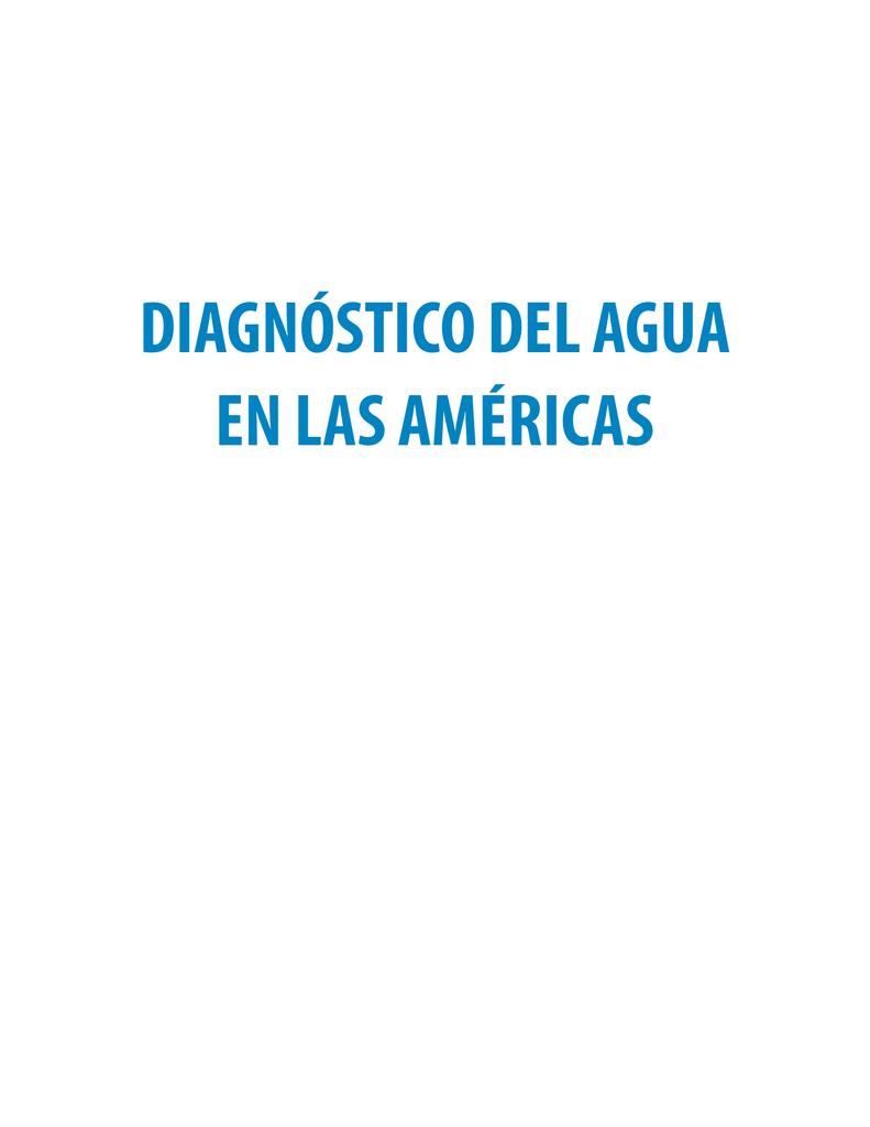 diagnóstico del agua en las américas