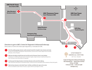 Map to Endoscopy Center