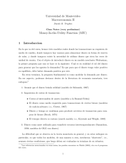 Handout 13 - Universidad de Montevideo