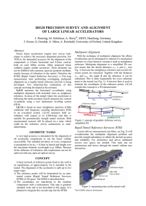 High Precision Survey and Alignment of Large Linear Accelerators