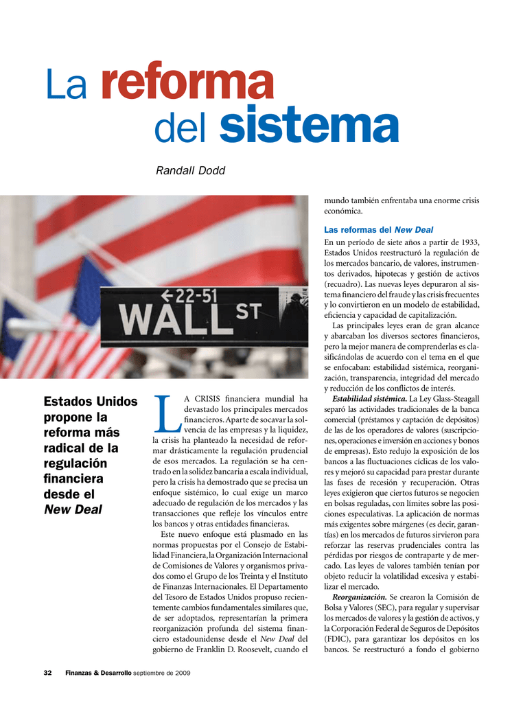 Finanzas y Desarrollo, Septiembre de 2009