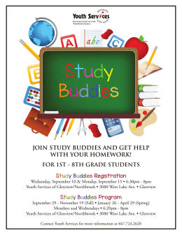 join study buddies and get help with your homework! for 1st