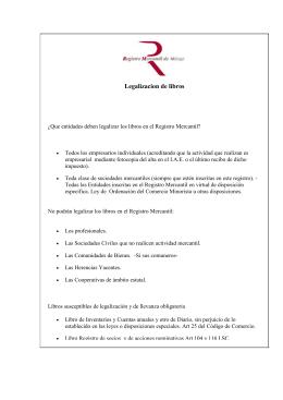 Curso de gesti n de programa legalia for Registro de bienes muebles madrid