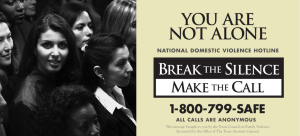 you are not alone - National Domestic Violence Hotline