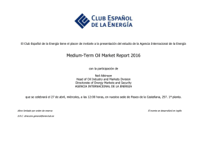 Medium-Term Oil Market Report 2016