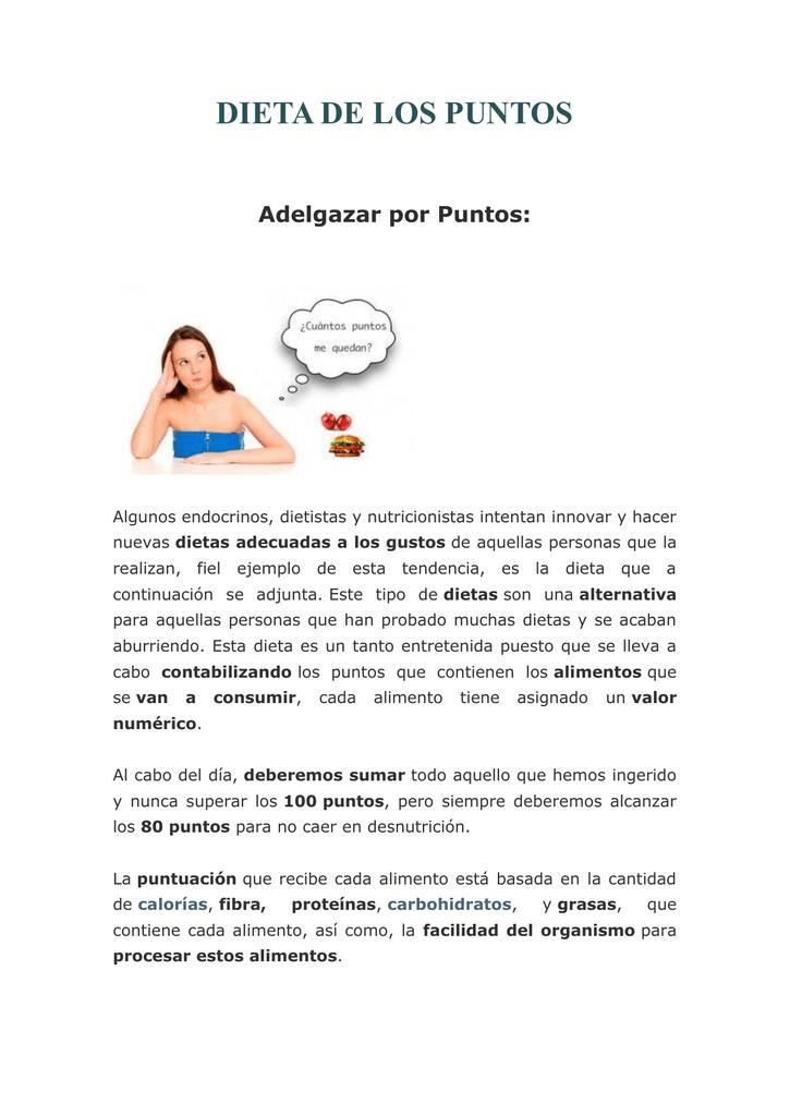 Dieta de proteinas pdf