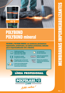 POLYBOND POLYBOND mineral