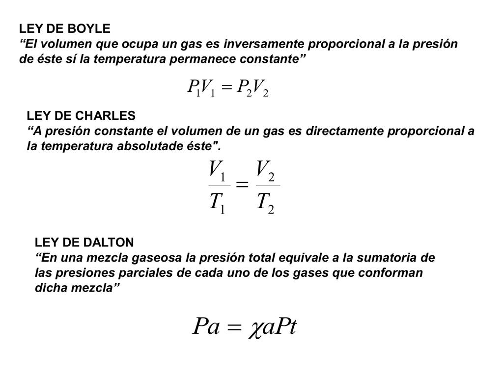 """LEY DE DISTRIBUCIÓN BAROMÉTRICA """"La variación de presión y"""