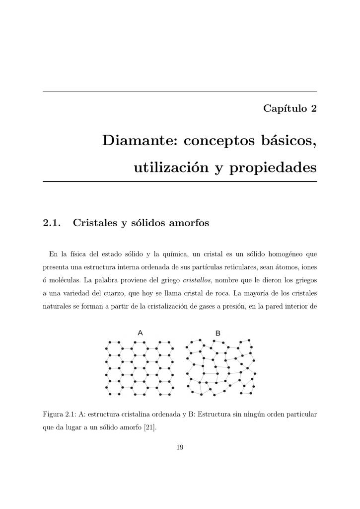 Diamante Conceptos Básicos Utilización Y