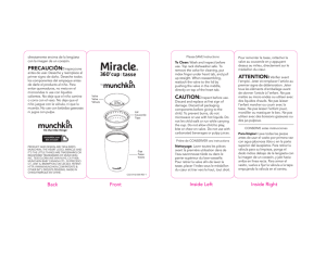 Miracle 360 Cup Manual