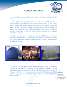 cupula inflable - Columbia Optics