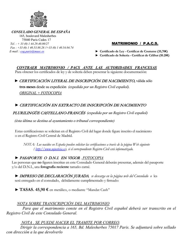 CERTIFICACIÓN LITERAL DE INSCRIPCIÓN DE