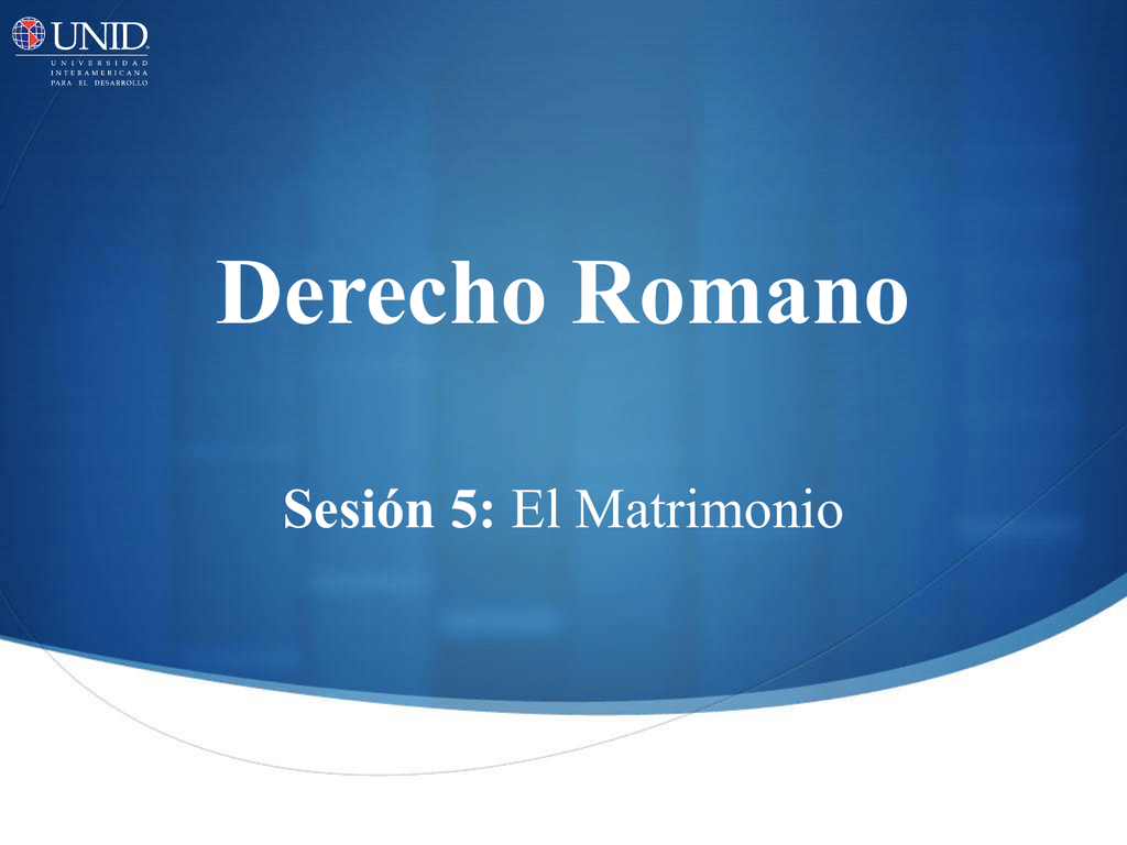 Matrimonio Romano Iustae Nuptiae : Matrimonio