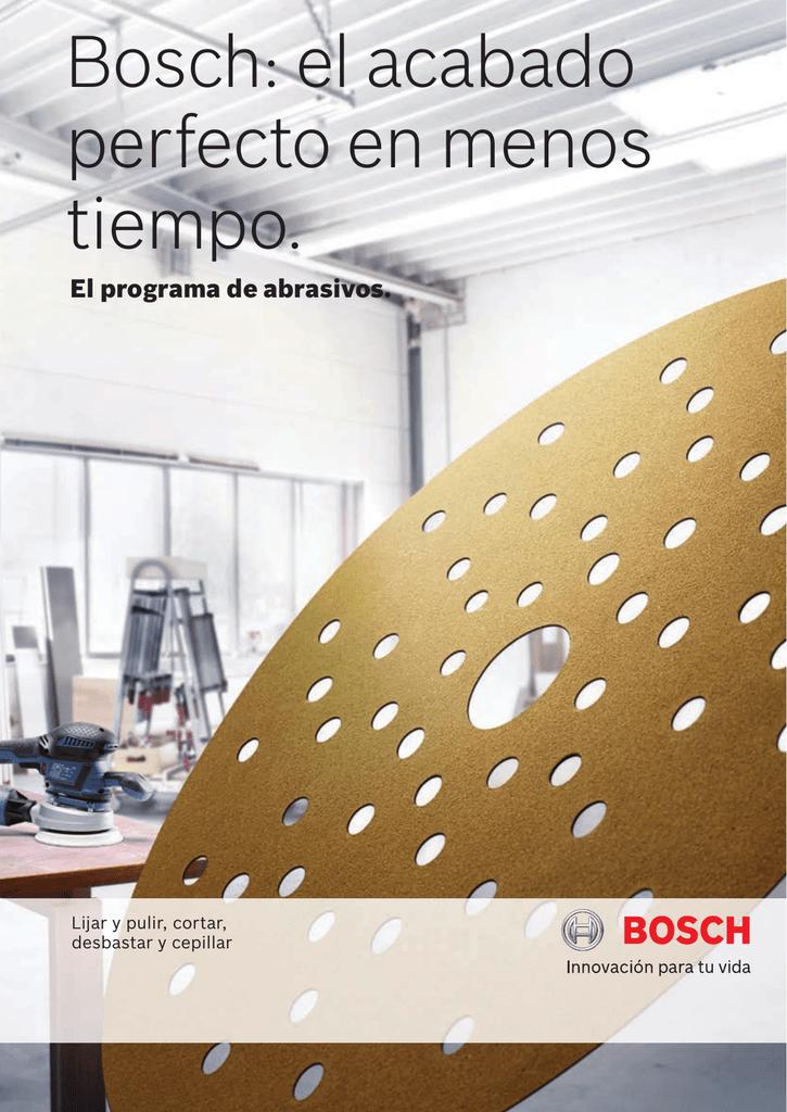 Bosch 2 608 606 165 Set de 3 bandas lijadoras 100 x 552 mm, 120