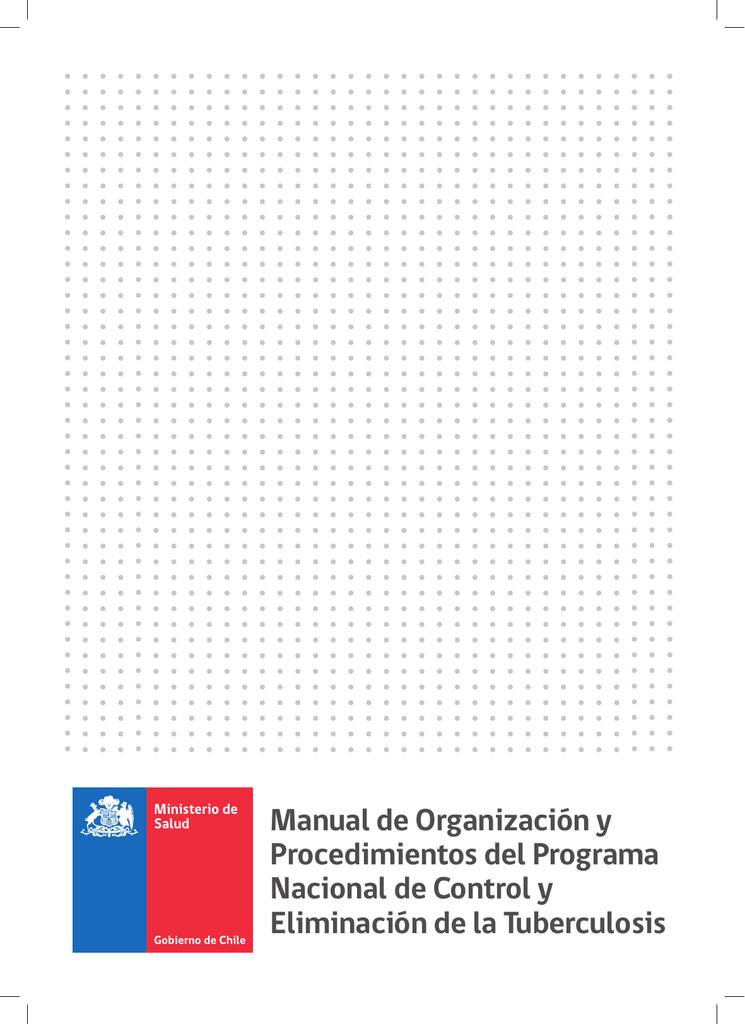 Manual de Organización y Procedimientos del Programa Nacional