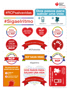 Sigaelritmo - CPR - American Heart Association