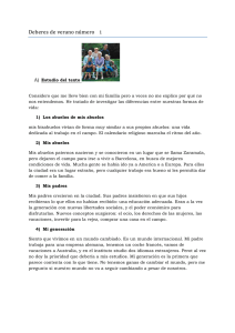 deberes 1 texto - The Thomas Hardye School