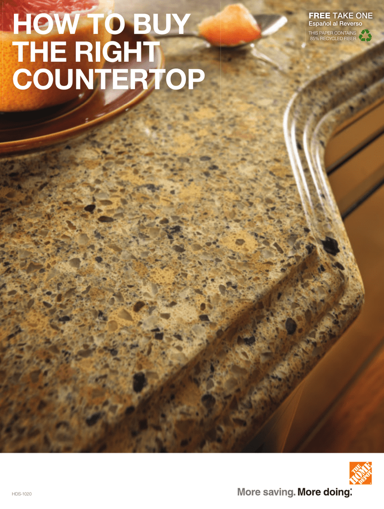 How To Buy The Right Countertop