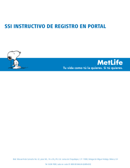 ssi instructivo de registro en portal