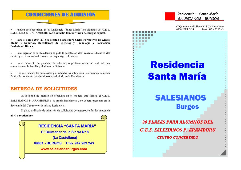 Residencia Santa María